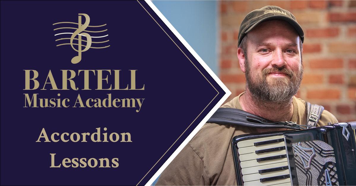 Spokane Accordion Lessons • Bartell Music Academy • (509) 998-5422